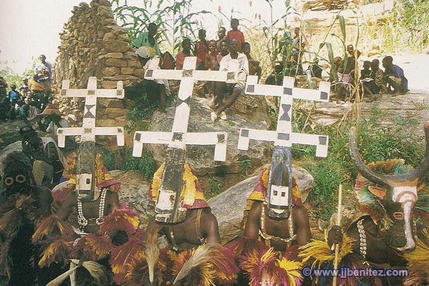 Resultado de imagen de tribu dogon